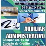Apostila Concurso ISGH - Hospital Regional do Sertão Central - CEARÁ - Auxiliar Administrativo