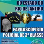 Apostilas Especificas para o Concurso da Policia Civil RJ - Papiloscopista