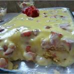 Culinária - Receita de Pavê de Morango