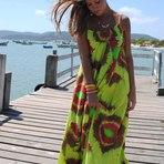Vestidos coloridos na moda verão 2015