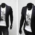 Diversos - Veja modelos de blazer masculino Slim