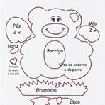 Diversos - Veja modelos de moldes de ursinhos em EVA