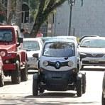 Curitiba comemora sucesso de projeto com carros elétricos