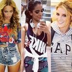 Celebridades usam Looks com Grifes Estampadas – Fotos