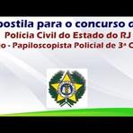 Apostila para o Concurso da Polícia Civil do Estado do Rio de Janeiro Papiloscopista Policial de 3ª Classe