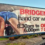 São as mulheres que lavam os carros?