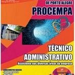 Apostila Digital PROCEMPA Grátis CD ROM - Técnico Administrativo - Assistente nas Diversas Áreas da Empresa