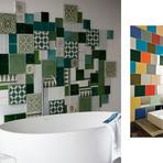 Decoração de Banheiro com Mosaico de Azulejo