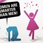 Mulheres são mais inteligentes que homens