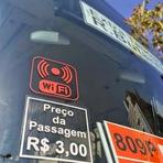 Os primeiros ônibus com Wi-Fi começam a circular na cidade de São Paulo