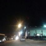 Pintura - Cinco mortos em confronto com a polícia são velados em ginásio municipal em Tijucas