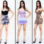 Aqui voce vera varios modelos de roupas que estão na moda para a balada