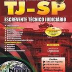 Concursos Públicos - Apostila TJ/SP Escrevente Técnico Judiciário 2014