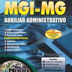 Apostila Concurso MGI-MG 2014 - Auxiliar Administrativo