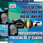 Apostila PAPILOSCOPISTA POLICIAL DE 3ª CLASSE - Concurso Polícia Civil / RJ (Papiloscopista) 2014