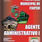 Concurso Prefeitura SP  Itapevi - AGENTE ADMINISTRATIVO I 2014