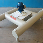 Bomba balsa flutuante - Bombetec