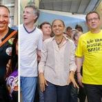 Ibope mostra a Dilma com 37%, a Marina com 33% e o Aécio com 15%