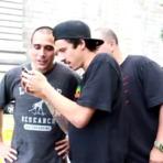 Luan de Oliveira e Cezar Gordo em NY   sobreskate.
