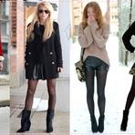 Voce em alta com lindos shorts com meia calça para as mulheres