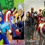 Abertura de Os Vingadores: Os Super Heróis mais Poderosos da Terra versão live-action