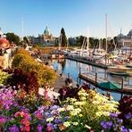 Conheça a cidade de Victoria, no Canadá