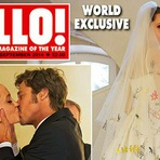 Angelina e Pitt receberam US$ 2 mi por fotos do casamento