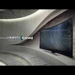 Samsung apresenta TV flexível de 105 polegadas.