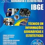 Apostila Concurso IBGE 2015 - Técnico em Informações Geográficas e Estatísticas