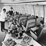 18 Fotos fantásticas de como eram as viagens de avião no passado