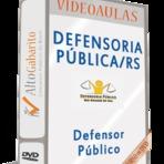 Curso Videoaulas em 37 DVDs para Concurso Defensoria Pública/RS - DEFENSOR PÚBLICO - 2014 - Prova dia 12 de outubro.