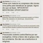 Silas Malafaia diz que a Dilma é oportunista e mentirosa