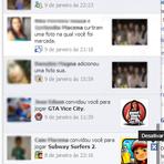 Como desativar notificações de jogos e aplicativos do Facebook