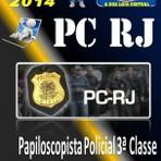 Apostila Concurso Publico PC RJ Papiloscopista Policial 3 Classe 2014