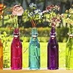 Decorando com arranjos de flores
