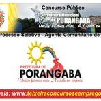 Edital Processo Seletivo Porangaba/SP 2014 para Agente Comunitário de Saúde - ACS