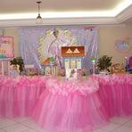 Decoração de festa de aniversário da Barbie