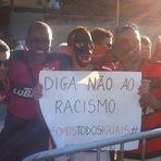 Futebol - RUBRO-NEGROS CHAMAM GREMISTAS DE RACISTAS E ATIRAM LATAS DE CERVEJA NELES