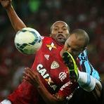 Futebol - FELIPÃO MEXE BEM, GRÊMIO DOMINA E VENCE O FLA POR 1 A 0 NOS ACRÉSCIMOS