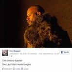 Cinema - Primeira foto de Vin Diesel como caçador de bruxas em novo filme