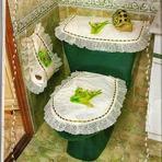 Jogo de Tecido Para Decorar o seu Banheiro