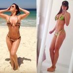 Elenita Machado perde 3kg e 4cm de cintura em 10 dias pulando corda