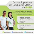 Vagas - FRN Divulga edital para os Cursos Superiores de Graduação via ENEM