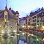 Entretenimento - Annecy - A Veneza dos Alpes!