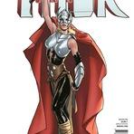 Thor - Marvel divulga prévia e capas de estreia da heroína