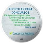 CD-ROM Com Apostilas Digitalizadas para Concursos em 2014