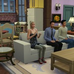 Friends no The Sims 4