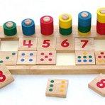 Brinquedo educativo de matemática