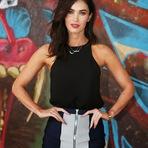 Celebridades - Megan Fox divulga o filme Tartarugas Ninja, e exibe o novo visual