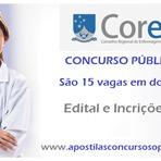 Apostila Concurso Coren PB 2014 - Conselho Regional de Enfermagem da Paraíba - Assistente Administrativo